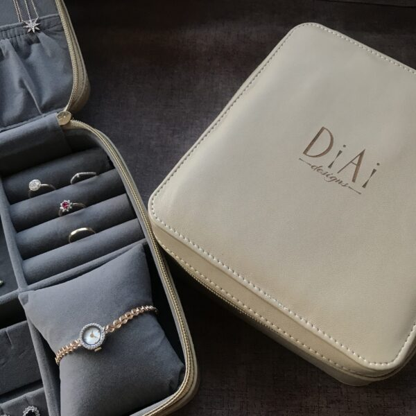 Personalised Luxe Jewellery Pouch