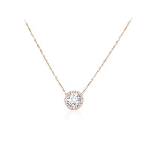 Grand Halo Necklace