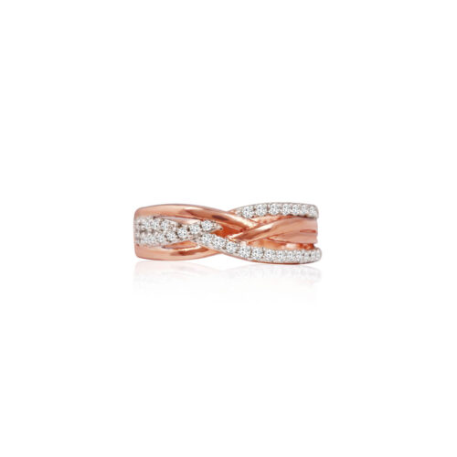Intertwined Infinity Ring