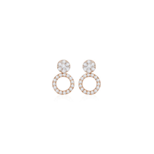 Round Signature 3-in-1 Earrings