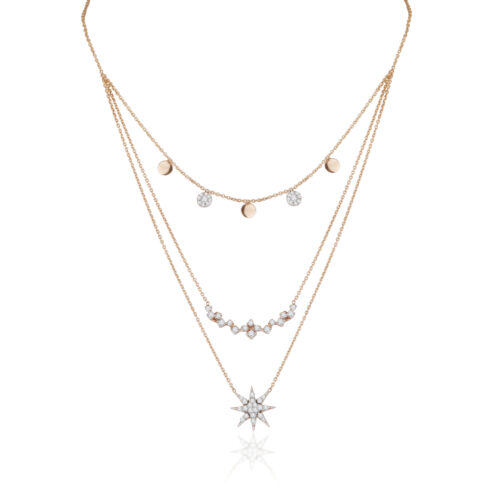 Pre-Layered Celestial Necklace