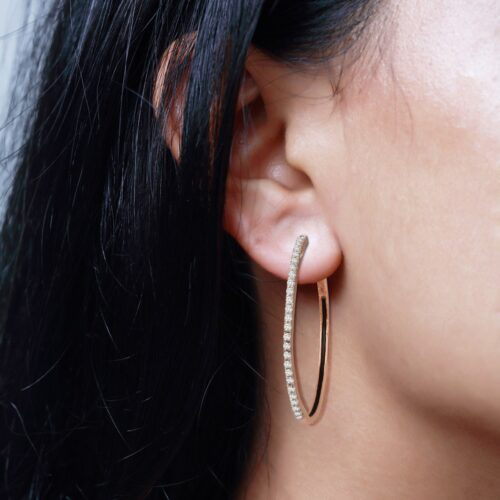 Round Shadow Hoops