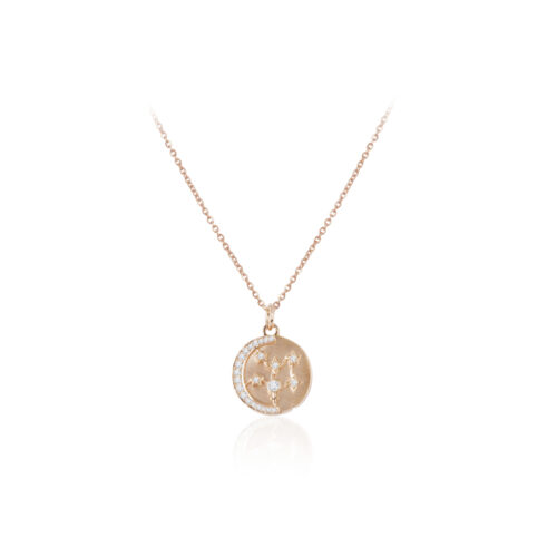 Star Set Coin Necklace
