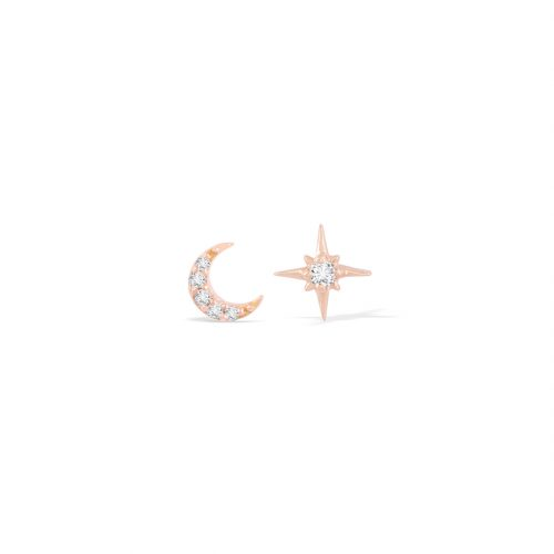 Moon & Star Curated Pair Studs